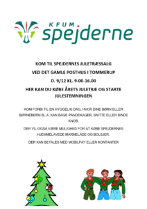 KFUM-Spejderne sælger juletræer 9. december