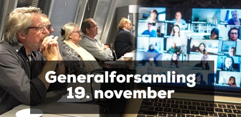 Tilmelding til generalforsamling