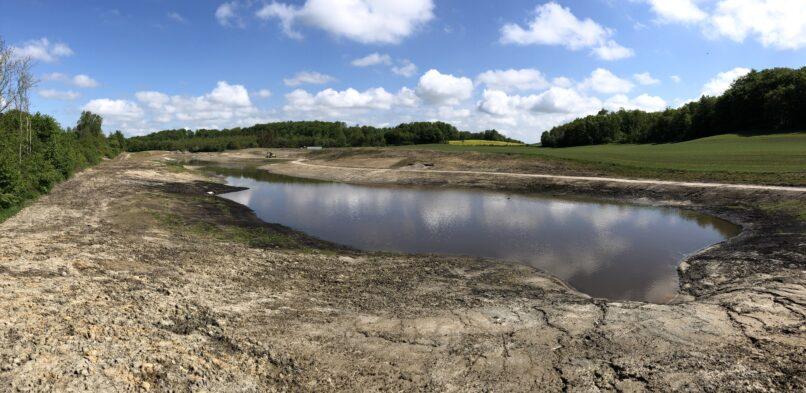 Rundvisning og såning ved nye søer