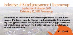 Invitation til indvielse fa Kirkebjergsøerne